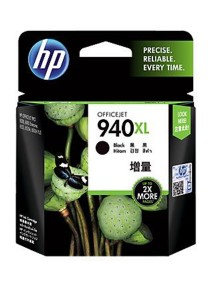 HP 940XL High Yield Black Original Ink Cartridge (C4906AA)