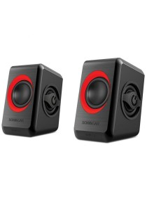 Sonic Gear Quatro 2 Speaker (Festive Red)