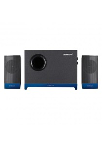 SonicGear Morro 2 BTMI Ultra 2.1 Speaker System (Metallic Blue)