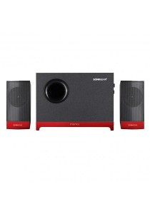 SonicGear Morro 2 BTMI Ultra 2.1 Speaker System (Metallic Red)