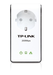 TP-Link AV200+ Multi-Streaming Powerline Adapter with AC Pass Through (TL-PA251)