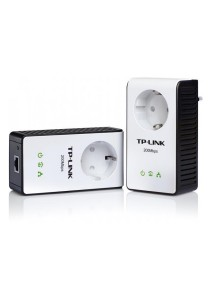 TP-Link AV200+ Multi-Streaming Powerline Starter Kit with AC Pass Through (TL-PA251KIT)