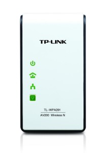 TP-Link 300Mbps AV200 Wireless N Powerline Extender (TL-WPA281)