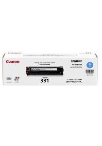 Canon Cart 331 Cyan Original Toner Cartridge