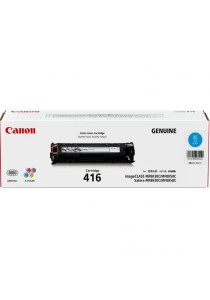 Canon Original Laser Cartridge 416 Toner (Cyan)