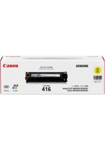 Canon Original Laser Cartridge 416 Toner (Yellow)