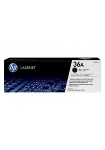 HP CB436A 36A Black Original LaserJet Toner Cartridge