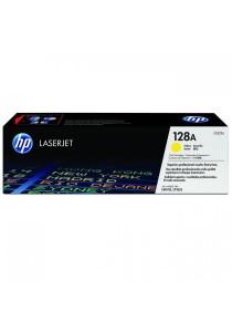 HP 128A CE322A Yellow Original LaserJet Toner Cartridge