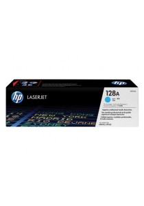 HP CE321A 128A LaserJet Cyan Toner Cartridge