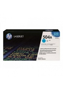 HP CE251A 504A Cyan Original LaserJet Toner Cartridge