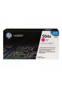HP CE253A 504A Magenta Original LaserJet Toner Cartridge