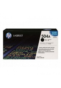 HP CE250A 504A Black Original LaserJet Toner Cartridge