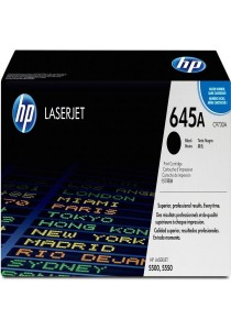 HP 645A C9730A LaserJet Toner Cartridge (Black)