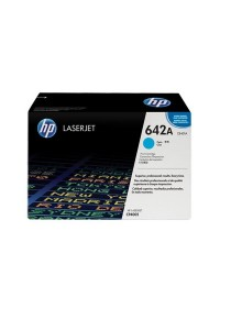 HP 642A CB401A Original LaserJet Toner Cartridge (Cyan)