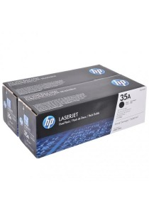 HP 35A 2-pack CB435AD Original LaserJet Toner Cartridges (Black)