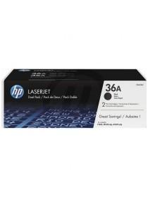 HP 36A 2-pack CB436AD Original LaserJet Toner Cartridges (Black)