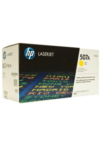 HP 507A Yellow Original LaserJet Toner Cartridge (CE402A)