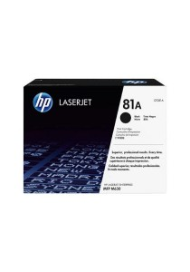 HP 81A CF281A Black Original LaserJet Toner Cartridge