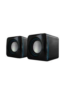 AudioBox U-Cube USB Powered 2.0 Speakers (Blue)
