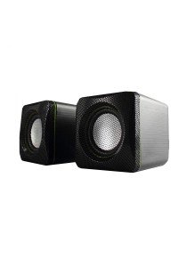 AudioBox U-Cube USB Powered 2.0 Speakers (Green)