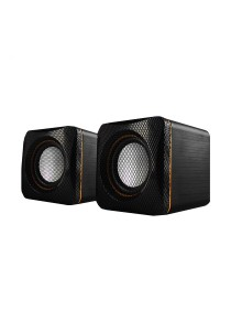 AudioBox U-Cube USB Powered 2.0 Speakers (Yellow)