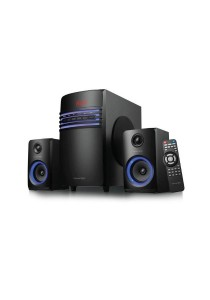 Vinnfier Xenon 8BTR 2.1 with Bluetooth Speaker (Black)