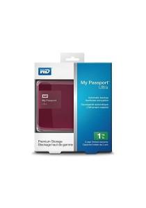 """Western Digital My Passport Ultra 2.5"""" 1TB External Hard Disk (Berry)"""