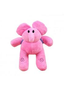 Pocoyo Cartoon Character - Elly (Pink Elephant) 30cm Plush Toy
