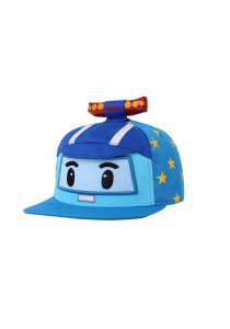 Robocar Poli Character Cap with Star
