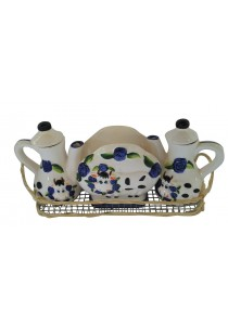 Porcelain Cows (Tissue Holder & Soy Sauce) 2A
