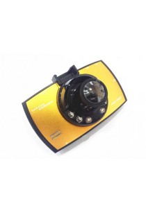Portable Car Camcorder 2.7 inch TFT LCD 1080p HD Gold
