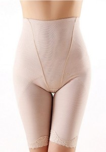 Pelvis Correction Girdle + Shaping Pants (Beige)