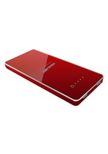 PROLiNK PPB1201 Energiepak Xtra 12000mAH Li-Polymer Power Bank (Red) + Free iPhone Compatible Charge Cable