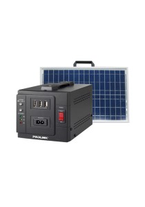 PROLiNK 70W Portable Solar Charger With USB port / DC Power Outlet / 24W Solar Panel PPS70