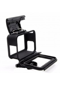 Proocam PRO-F213 Frame Housing with Mount for Gopro Hero 5 camera Body(Black) (Black)