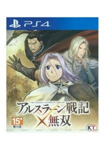 [PS4] Koei The Heroic Legend of Arslan Warriors (R3/JP)