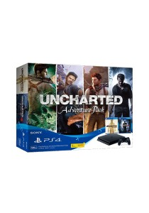 PS4 Slim Uncharted Adventure Pack & FOC 1 Extra PS4 Controller