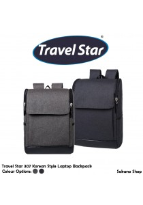 Travel Star 307 Korean Style Premium Laptop And Outdoor Backpack