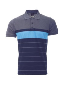 Cotton Polo T Shirt PST 01 02 (Charcoal) Navy