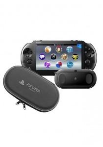 Sony Computer Entertainment PS Vita 2006 (Black) + Air Foam Pouch