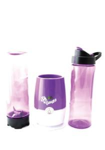 (Msia Power Plug) Shake N Take 3 Colorful Fruit Juice Blender With 2 Bottles