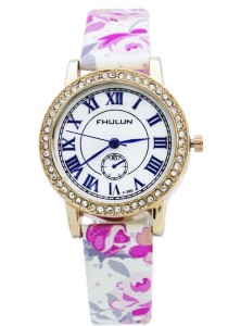 LadiesRoom Summer Floral Quartz Watch (Pink)