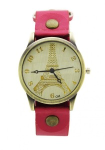 LadiesRoom Paris Casual Watch  (Red)