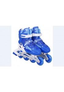 QF Professional Kid's Inline Skates - Blue (S)