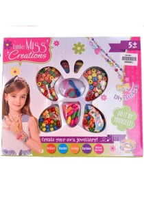 Little Miss Creation Create Your Own Jewellery - Name Colorful