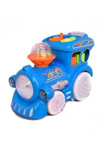 Train Puzzle - Fun For Everyone (Blue)