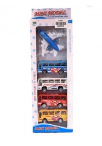 The Simulation series AirPlane + Bus Model Collection