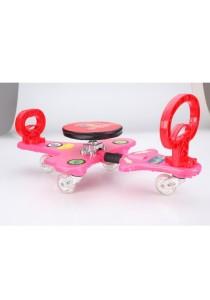 Kids Arm Exercising Gym Bike - Pink