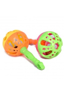 Hand Bells Lovely Plastic Baby Toys Hand Rattles Educational Toys