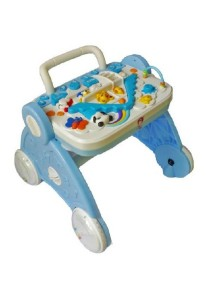 Multifunction Baby Walker Early Education - Blue